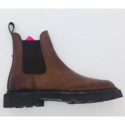 BOOTS CUIR BULLY COUSU...