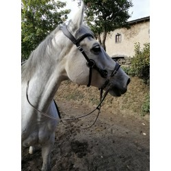 BRIDON SIDE PULL HACKAMORE...